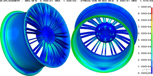 Aisis Computer Aided Engineering Cae Fea Von Mises Stress